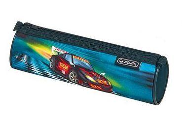 Пенал Herlitz Super Racer 2017, круглый