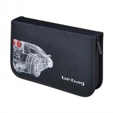 Пенал Be.Bag Grid Car 25 предметов