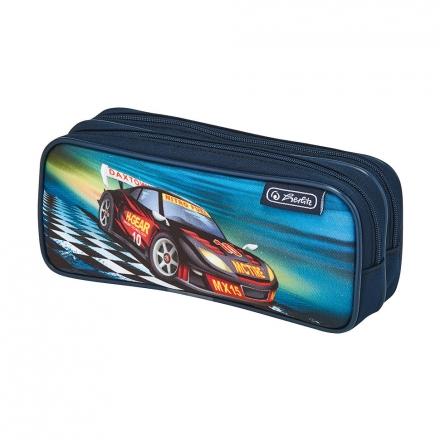 Пенал Herlitz Super Racer, 2 молнии