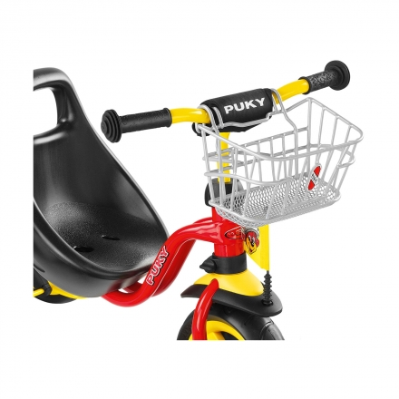 Передняя корзина Puky LK DR для трехколесных велосипедов и самокатов