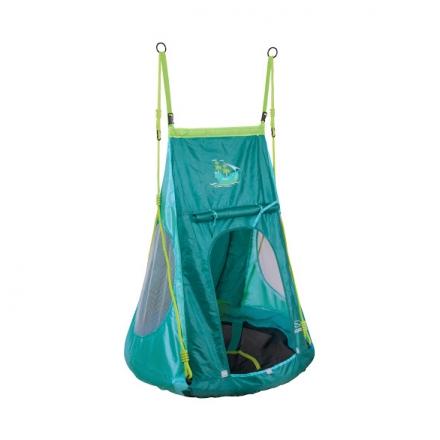 Качели-гнездо Hudora 90 с палаткой, пираты