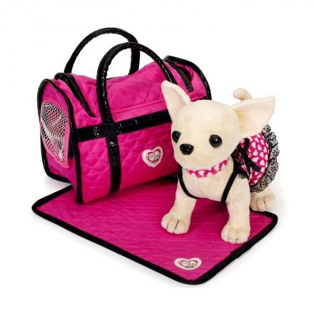 Плюшевая собачка Chi-Chi Love Розовая мечта