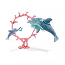 Набор Schleich Дельфин с детенышами