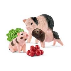 Набор Schleich Карликовая домашняя свинья с поросятами