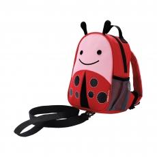 Рюкзак детский с поводком Skip Hop «Божья коровка»