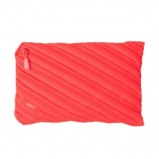 Пенал-сумочка Zipit Neon Jumbo Pouch, персиковый