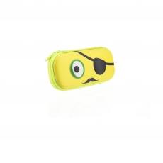 Пенал Zipit Beast Box, желтый