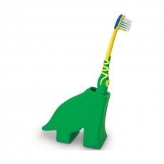 Держатель для зубной щетки J-me Dinosaur, зеленый