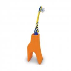Держатель для зубной щетки J-me Giraffe, оранжевый