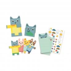 Пригласительные открытки Djeco Мягкие игрушки