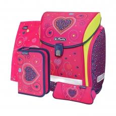 Ранец Herlitz New Midi Plus Pink Hearts
