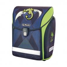 Ранец Herlitz New Midi Green Robo Dragon