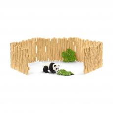 Набор Schleich Загон с детенышем панды