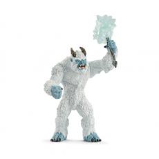 Фигурка Schleich Ледяной монстр с оружием