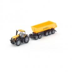 Трактор с прицепом-кузовом