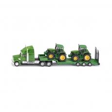 Тягач с 2 тракторами John Deere