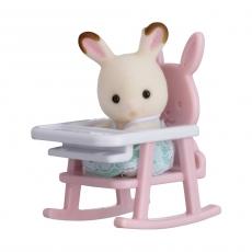 Набор Sylvanian «Кролик в детском кресле»