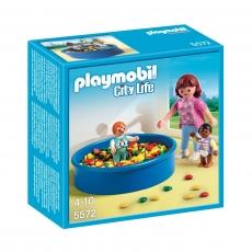 Игровая площадка с шариками Playmobil