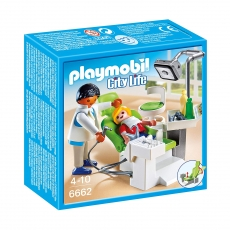 Дантист с пациентом Playmobil