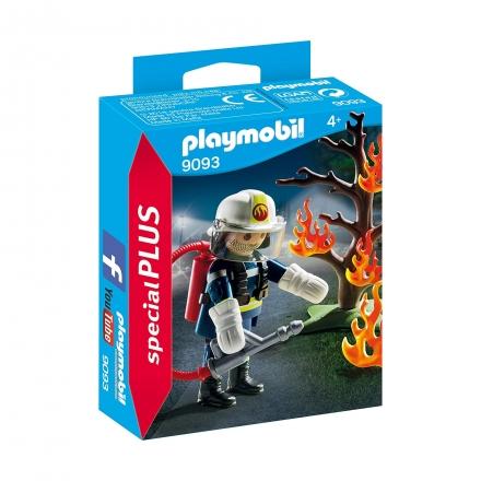 Пожарный с деревом Playmobil