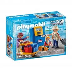 Семья на регистрации Playmobil