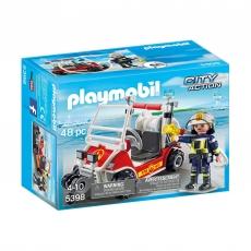 Пожарный квадроцикл Playmobil