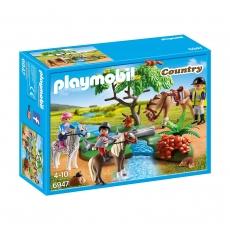 Верховая езда Playmobil