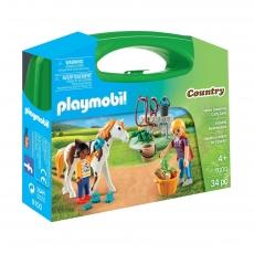 Стрижка лошадей Playmobil