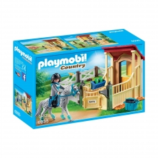 Конюшня Playmobil со скакунами аппалузской породы