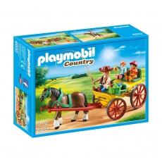 Гужевая повозка Playmobil