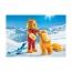 Урок катания на лыжах Playmobil