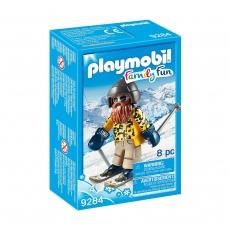 Лыжник с палками Playmobil