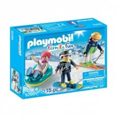 Трио в зимних видах спорта Playmobil