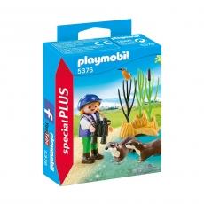 Исследователь с выдрами Playmobil
