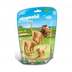 Семья львов Playmobil