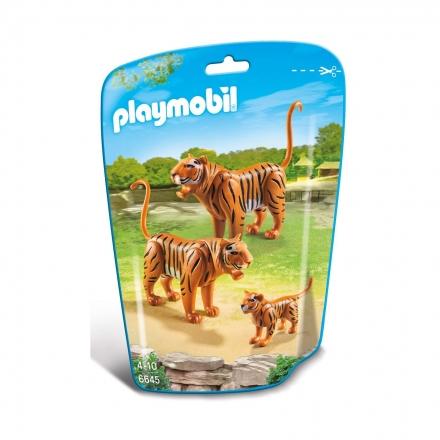 Семья тигров Playmobil