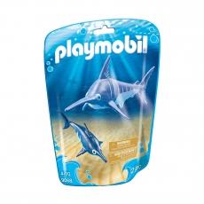 Рыба-меч с детенышем Playmobil