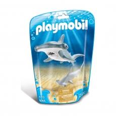 Молотоголовая акула с детенышем Playmobil