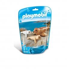 Тюлень с детёнышами Playmobil