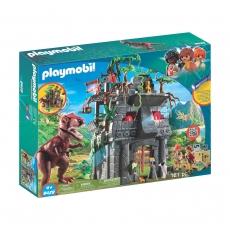 Затерянный храм Playmobil с тиранозавром