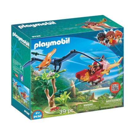 Вертолет Playmobil для приключений с птеродактилем
