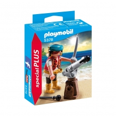 Пират с пушкой Playmobil