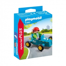 Мальчик с картом Playmobil