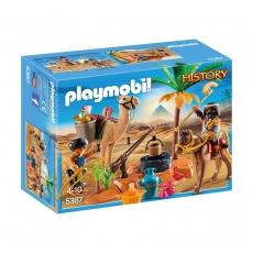 Лагерь расхитителей гробниц Playmobil
