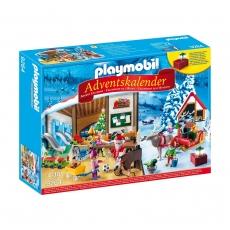 Адвент-календарь Playmobil Мастерская Санта-Клауса