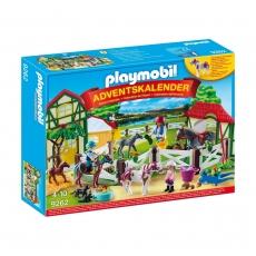 Адвент-календарь Playmobil Лошадиная ферма