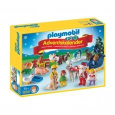 Адвент-календарь Playmobil 1.2.3 Рождество на Ферме