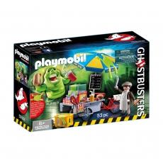 Лизун и торговая тележка с хот-догами Playmobil