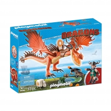 Сморкала и Криволык Playmobil