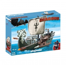 Драконий корабль викингов Playmobil